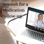 Man talking to medical provider via virtual visit on his computer